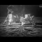 Footage of Moon Landing (July 20, 1969) on the Mend