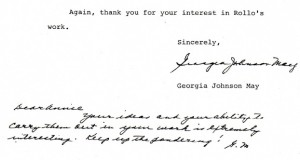Closing portion of the letter.