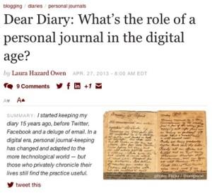 DiaryArticle