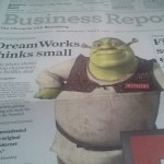 DreamWorks Thinking Small?  Maybe It's More About Touchpoints…