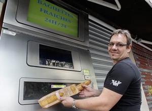 baguette vending machine paris