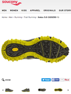 Saucony Xodus Trail Running shoes