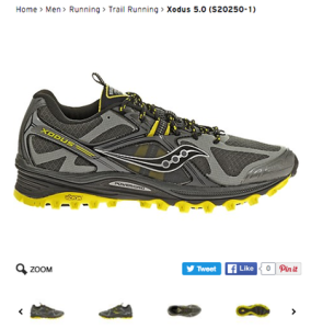 Another good option is this Saucony Xodus.