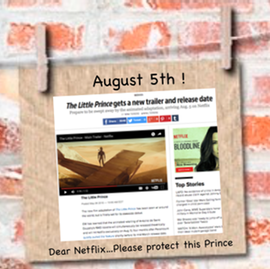 The Little Prince movie August 5