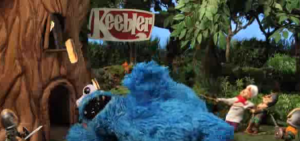 Robot Chicken Keebler Cookie Monster