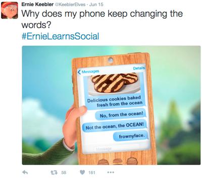Keebler Ernie Elf Twitter