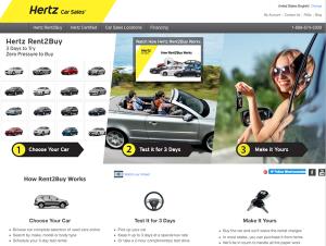 Hertz Rent2Buy program