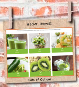 Mighties brand kiwifruit options
