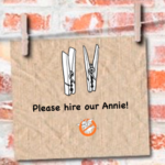 Hire Our Annie – The Thumb Scroll Edition