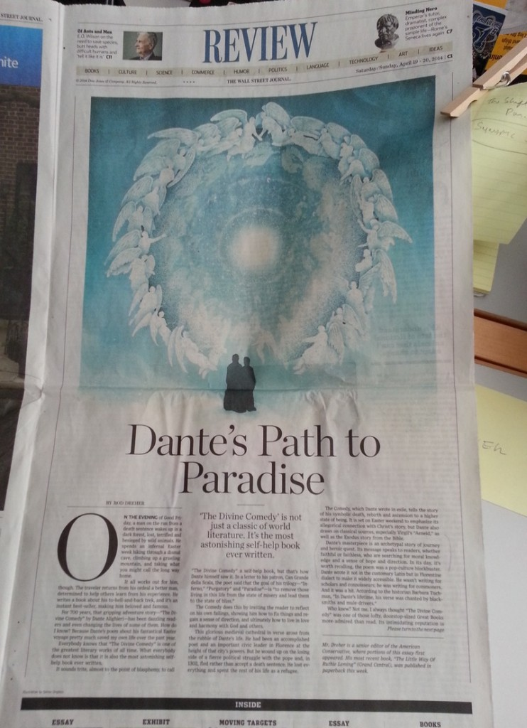 WSJ Essay on Dante.