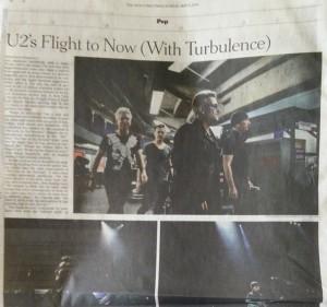 Sunday NYT U2 Piece
