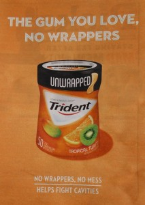 Environmentally-Friendly Gum Ad.