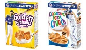 General Mills Bautista Bat Flip cereal