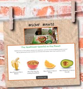 Mighties brand kiwifruit nutrition