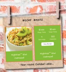 Mighties brand kiwifruit oatober