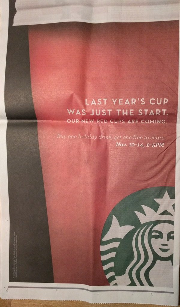 Full Page Ad in The Wall Street Journal
