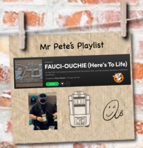 Mr Pete's Spotify Playlist FAUCI-OUCHIE